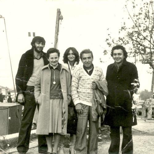 Famiglia di origine scatto del 1968