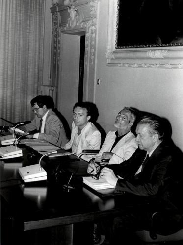 Convegno con Prodi e Selleri anno 1984