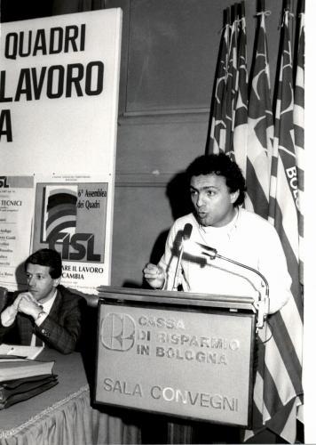 Assemblea Quadri UST nel 1987