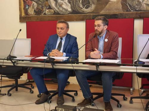 Conferenza stampa presso il Comune di Bologna