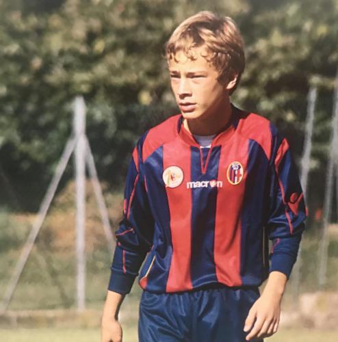 Luca passione calcio