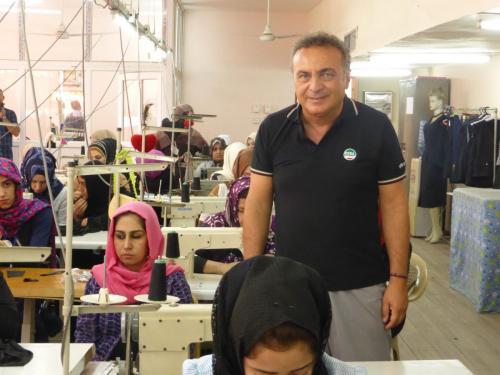 Laboratorio in Irak