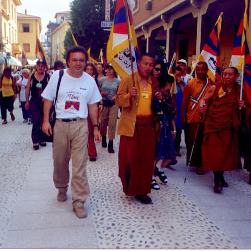 Marcia in Tibet