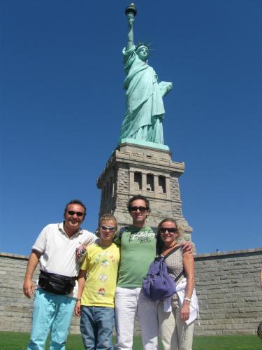 2008 viaggio a NY in famiglia