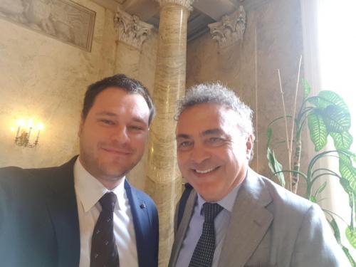 Con Marco Vice Presidente ACER