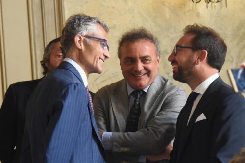 Con il Ministro Bonafede in corte d'appello