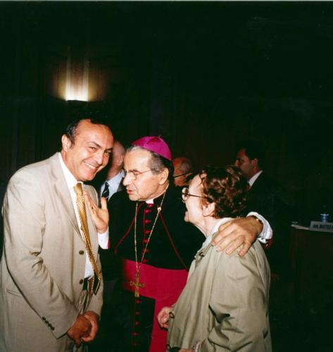 Con Caffarra e Luciana