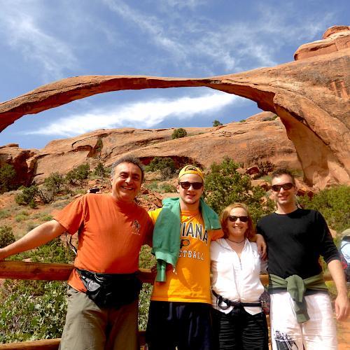 Viaggio al California Park in famiglia