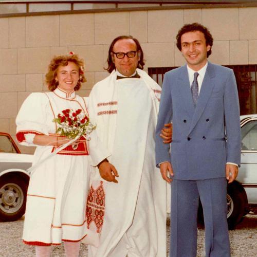 Con Don Arrigo nel 1982