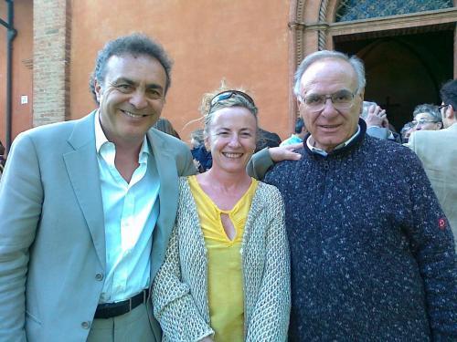 Con Don Arrigo nel 2002