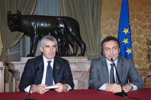 Con Casini alla Camera dei Deputati
