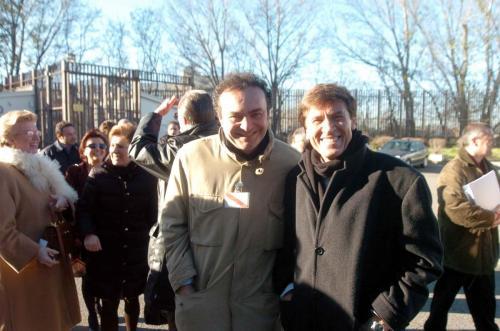 Con Morandi per l'attività dedicata al carcere di Bologna