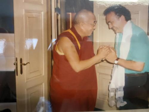 Con Dalai Lama