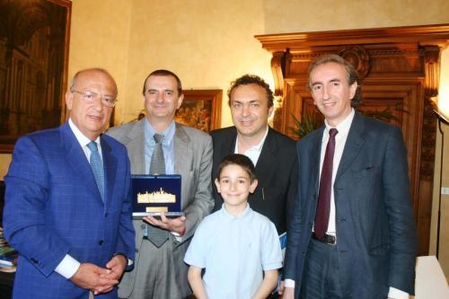 Con Giorgio Guazzaloca
