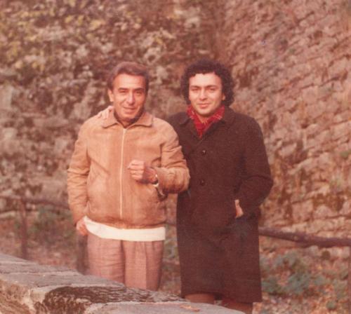Con papà Arturo