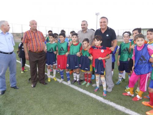 Progetto calcio Kurdistan