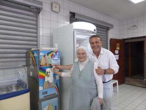 Progetto gelato in Brasile