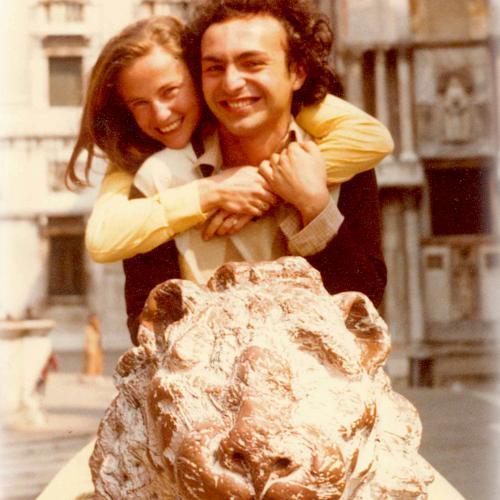 Venezia 1980 con Paola