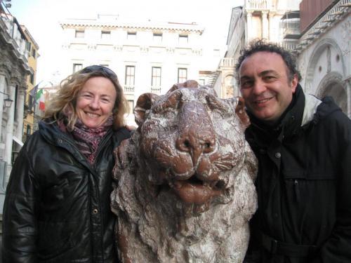 Cenezia 2010 con Paola